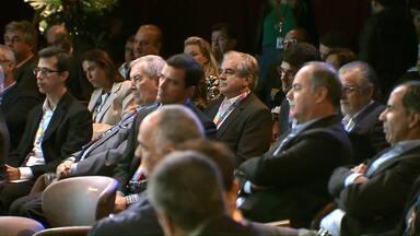 Executivos das emissoras que fazem parte da rede Globo se reúnem em São Paulo - A reunião foi para debater os desafios da comunicação no Brasil.