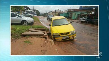 Saiba de quem cobrar se tiver prejuízos com veículos no trânsito de Santarém - Ruas cheias de buracos e falta de infraestrutura podem causar danos a pedestres e veículos. Veja o que fazer para cobrar seus direitos.