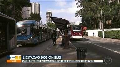 Entidades pedem que CADE investigue licitação dos ônibus em São Paulo - Rede Nossa São Paulo, Greenpeace e IDEC dizem que edital tem falhas e não favorece concorrência.