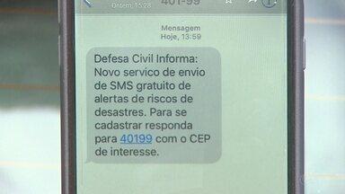 Monitoramento de desastres é feito por telefone em Rondônia - Maríndia Moura.