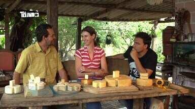 Reveja: Mário conhece o melhor queijo do mundo em Sacramento - Responsáveis pelo queijo são primos que se apaixonaram em uma queijeira