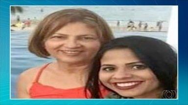 Corpos de mãe e filha que morreram em acidente estão sendo velados em Porto Nacional - Corpos de mãe e filha que morreram em acidente estão sendo velados em Porto Nacional