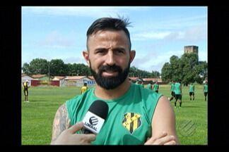 Leandro Cearense está de volta ao Castanhal - Atacante retorna após passagem pelo Agua Santa, na A2 do Paulista