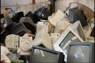 Projeto 'Destino Certo' recolhe lixo eletrônico em Divinópolis - Um projeto no Bairro Bom Pastor está recolhendo peças de computador, restos de televisores e celulares, para o reaproveitamento consciente desses materiais.