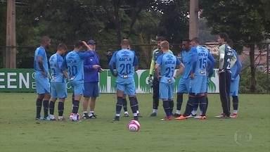 Cruzeiro ajusta os últimos detalhes para o clássico - Cruzeiro ajusta os últimos detalhes para o clássico
