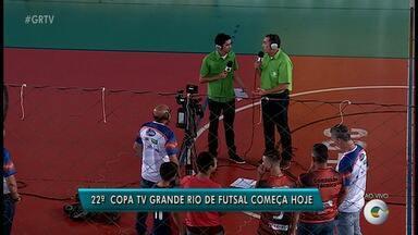 Copa TV Grande Rio promete ser sucesso na sua 22º edição - São 45 times.