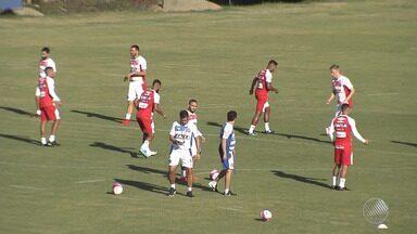 Bahia se prepara para enfrentar time do Juazeirense nesse domingo (4) - Animados com a boa fase do time, torcedores do Juazeirense acreditam no time.