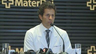 Neymar passa por cirurgia no pé em Belo Horizonte, MG - Neymar passa por cirurgia no pé em Belo Horizonte, MG