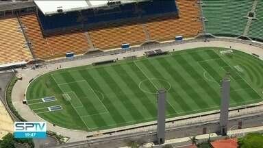 Santos e Corinthians fazem clássico pelo Paulistão neste domingo - Jogo tem mando da equipe santista e será realizado no Estádio do Pacaembu.