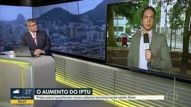 Prazo para renegociar IPTU do Rio termina amanhã - Imposto subiu este ano e provocou muita polêmica.