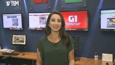 Mayara Corrêa traz os destaques do G1 Sorocaba e Jundiaí nesta sexta-feira - Mayara Corrêa traz os destaques do G1 Sorocaba e Jundiaí nesta sexta-feira (9).