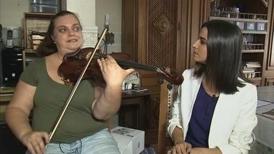 Musicista de Jundiaí irá se apresentar com orquestra de jazz em Istambul - Nós vamos conhecer agora a história da Ana, uma musicista de Jundiaí que vai ter uma oportunidade única: tocar com uma orquestra de jazz em Istambul, na Turquia.