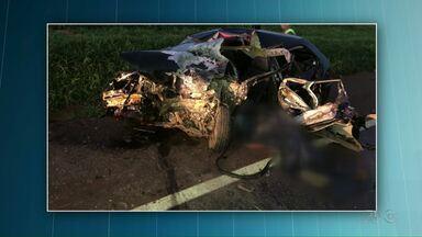 Motorista morre em acidente na BR-277, em Céu Azul - E no centro de Cascavel, um motociclista ficou ferido. Já em Francisco Beltrão teve perseguição policial.