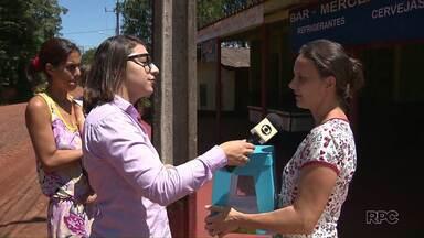 A urna da Redação Móvel está no bairro Lote Grande, em Foz do Iguaçu - Moradores podem deixar sugestões para a reportagem sobre o bairro.