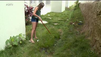Infiltrações de água preocupam moradores do bairro Antônio Cassimiro, em Petrolina - A água está invadindo os apartamentos.