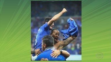 """Dedé se emociona ao completar 100 jogos no Cruzeiro: """"Foi uma luta pra chegar"""" - Dedé se emociona ao completar 100 jogos no Cruzeiro: """"Foi uma luta pra chegar"""""""