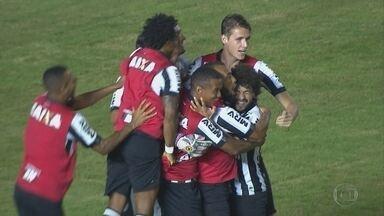 Atlético-MG demorou, mas conquistou uma das vagas nas quartas de final do Mineiro - Atlético-MG demorou, mas conquistou uma das vagas nas quartas de final do Mineiro