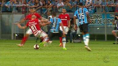 Patrick do Internacional e Alisson do Grêmio comentam a participação no primeiro GreNal - Assista ao vídeo.