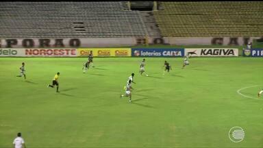 Eduardo marca, e River-PI vence o Altos em jogo no Albertão - Eduardo marca, e River-PI vence o Altos em jogo no Albertão