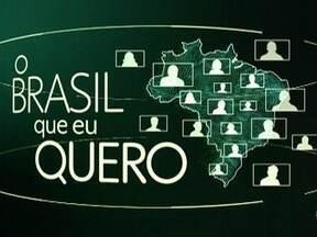 Que Brasil você quer para o futuro? Veja como enviar o seu vídeo - A Globo quer ouvir o desejo dos brasileiros de todas as cidades do país e já começou a exibir as mensagens nos telejornais.