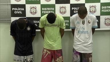 Polícia prende acusados de jogar jovem de ônibus em movimento durante assalto - São seis os envolvidos no crime, sendo três menores, e foram presos em Planaltina,