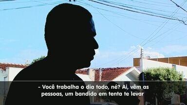 Moradores temem furtos e roubos registrados no bairro Campos Elíseos em Ribeirão Preto - Na quinta-feira (8) uma casa lotérica foi alvo de uma tentativa de assalto.