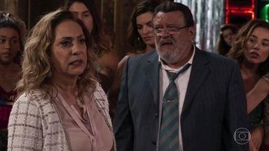 Nádia faz um escândalo, confronta Gustavo e avisa que ele será expulso de casa - Patrick afirma a Gustavo que será indiciado e poderá perder o cargo