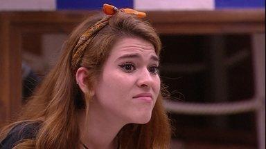 Ana Clara para Caruso: 'Eu não gosto de coisas que você faz e por isso não falo mais' - Brothers conversam na cozinha