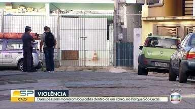 Bom Dia São Paulo - Edição de Quarta-Feira 14/03/2018 - Polícia prende dupla em 'Casa da Moeda' clandestina na Zona Sul de SP. Cratera 'engole' carro em avenida em Cotia, na Grande SP. Mais de 1 milhão de pedidos de consultas ou exames aguardam atendimento em SP.