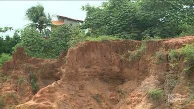 Temporal deixa em alerta moradores da área Itaqui Bacanga em São Luís - Local concentra a maior parte das áreas de risco, mapeadas pela Defesa Civil.