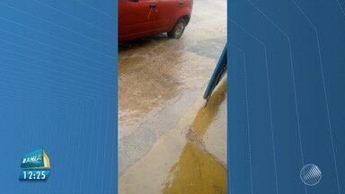 Chuva de granizo surpreende os moradores de Piatã, na Chapada Diamantina - Veja no quadro da previsão do tempo.