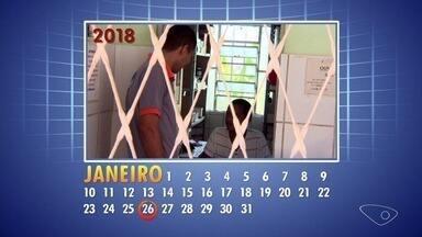 Calendário ESTV: prefeitura remaneja servidora para atender moradores em Graúna - A farmácia da unidade de saúde do bairro, em Cariacica, estava fechada.