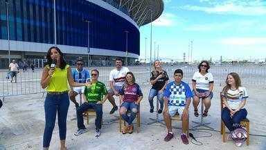 Globo Esporte RS deste sábado (17) é apresentado direto da Arena do Grêmio - Confira os destaques do Gauchão 2018.