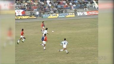 Paraná Clube já teve jogos memoráveis contra equipes de Foz do Iguaçu - Mesmo na conquista de seu primeiro título, Tricolor tropeçou jogando na fronteira