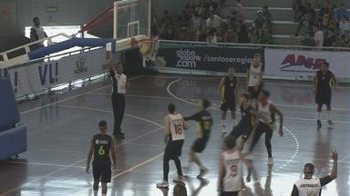 Copa TV Tribuna de Basquete Escolar chegam às quartas de final - Disputas aconteceram no Ginásio do Sesc, em Santos.