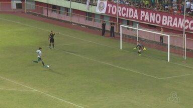 Nos pênaltis, Manaus bate Rio Branco fora de casa e avança na Copa Verde - Gavião do Norte até saiu atrás, mas igualou o marcador com Hamilton. Jonathan defendeu uma das penalidades e ajudou time a alcançar semifinais