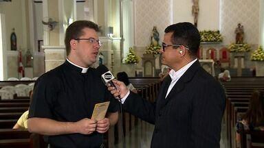 Igreja católica celebra Dia de São José - Igreja católica celebra Dia de São José.