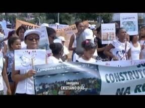 Caminhada pela paz ocorreu neste domingo (18) em Ipatinga - Caminhada ocorreu Parque Ipanema; ação visa conscientizar a população.