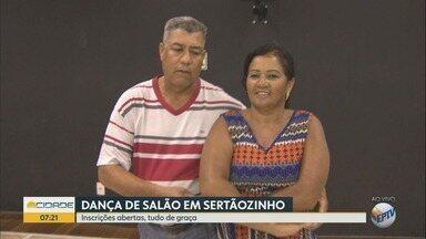 Sertãozinho, SP, tem aulas gratuitas de dança de salão para adultos - São oferecidas 30 vagas para pessoas maiores de 18 anos.