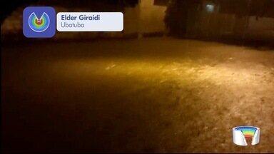 Chuva forte também atingiu Ubatuba - Um dos locais afetados foi o Silop.