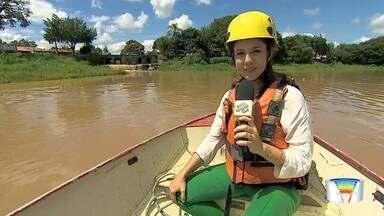 O Rio Paraíba tem trechos nevagáveis - Veja com a repórter Vanessa Vantine.