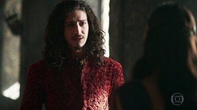 Rodolfo lamenta a partida de Cássio e é criticado por Catarina - Ele agora pensa em um nome para ocupar o cargo