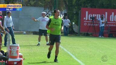 Jogadores do Inter tem folga neste final de semana e Leandro Damião volta aos treinos - Assista ao vídeo.