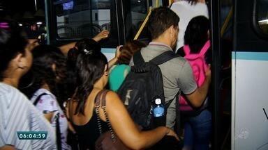 Polícia faz patrulha em terminais e corredores considerados perigosos em Fortaleza - A ação teve início após aos ataques a ônibus que vem ocorrendo desde o fim de semana. Saiba mais em g1.com.br/ce