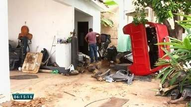 Polícia descobre casa usada para desmanche de carros roubados em Juazeiro do Norte - Saiba mais em g1.com.br/ce