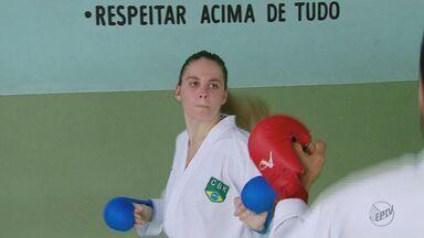 Karateca de São Carlos intensifica treinamento para conseguir vaga nos jogos olímpicos - Gabrielli Sepe conquistou a medalha de bronze no Open Internacional.