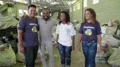 Hoje é dia decatador: a cooperativa - Alexandre Henderson vai até a Cooperativa de Trabalho e Produção de Catadores de Materiais Recicláveis de Irajá, no Rio de Janeiro, a Coopfuturo