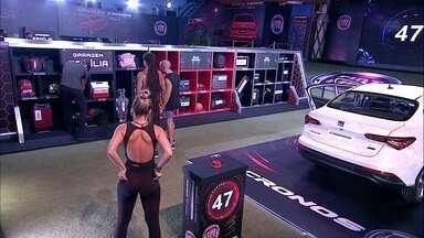 Confinados guardam itens de volta na Garagem Família - Brothers cumprem Prova do Líder Fiat Cronos na Bagagem