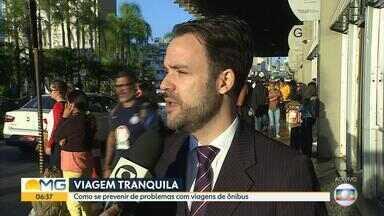Advogado dá dicas para evitar problemas em viagens de ônibus - Veja entrevista com Fernando Fornale sobre direitos dos passageiros.