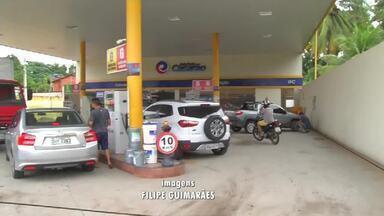 Preço do combustível no Cariri não está nada convidativo - O valor da gasolina ultrapassa a casa dos R$ 4,30 o litro.